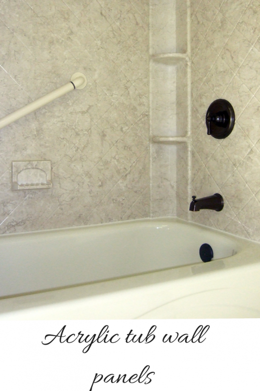 How to compare grout free shower and tub wall panels | Shower tub ...
