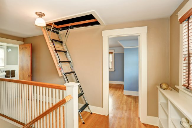The Best Attic Ladders For Easy Loft Access In 2020 Attic Ladder Attic Stairs Pull Down Attic Stairs