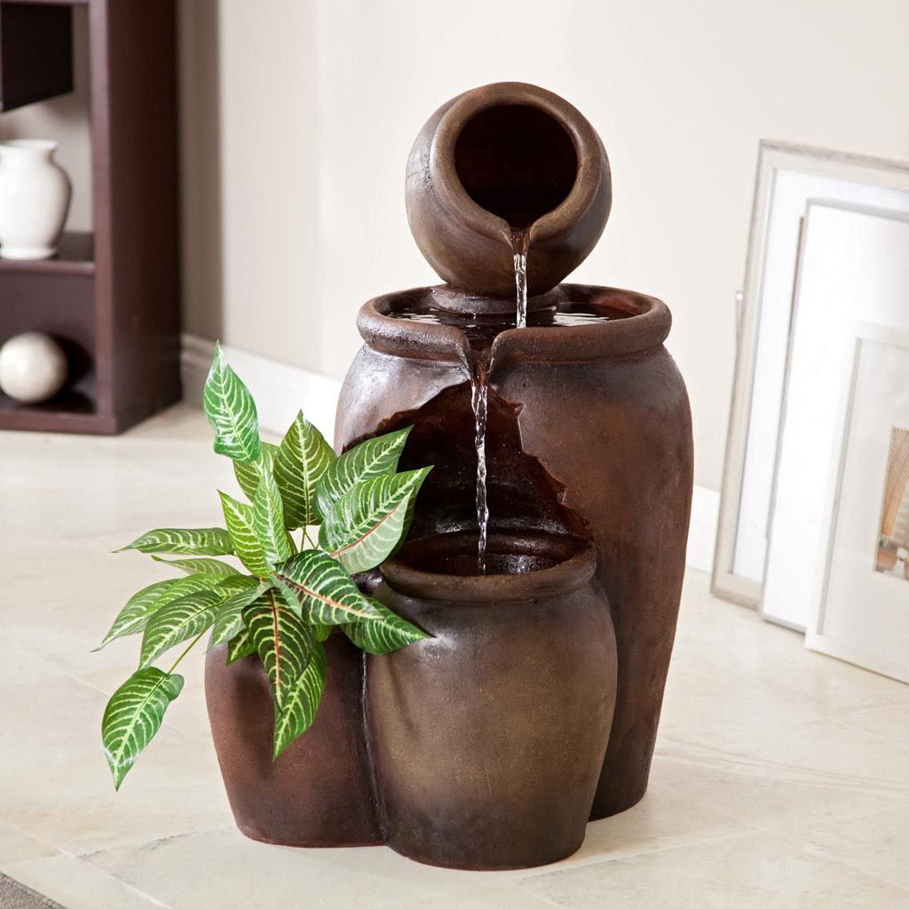 Indoor Water Fountains For Home Decor Fountains Outdoor Modern