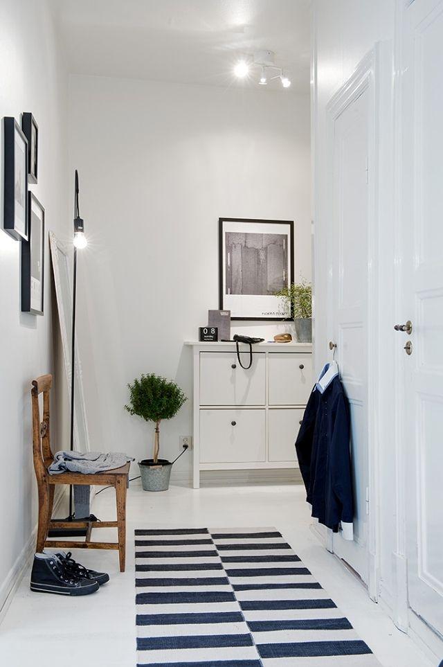 Un piso de entretiempo la garbatella blog de decoraci n - Piso estilo nordico ...