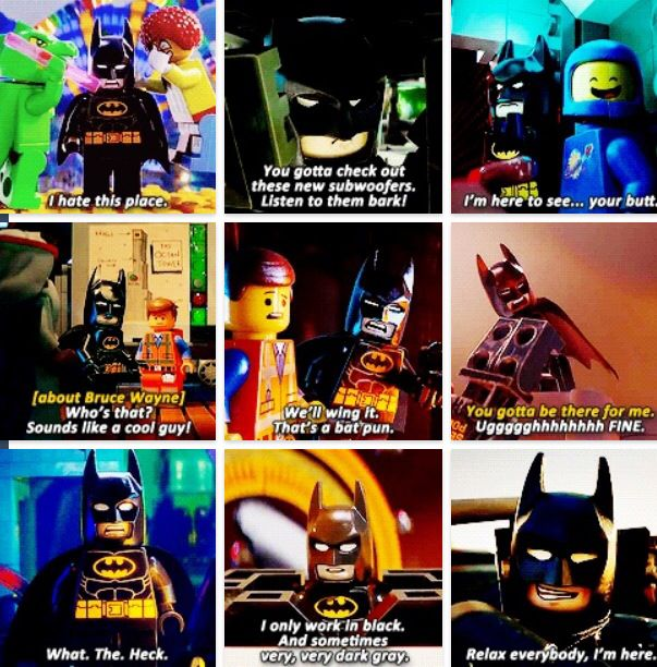 Funny Lego Movie Quotes: Batman In The Lego Movie(: