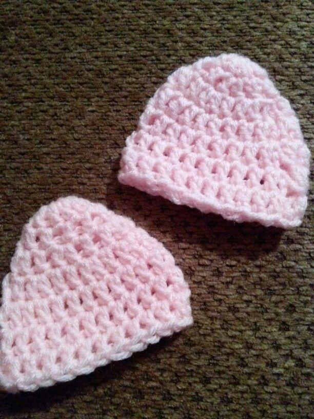 Preemie Baby Hats Crochet Pinterest Preemie Babies Preemies