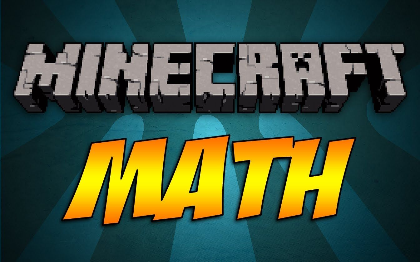 A Quick Short Talking About All The Cool Math Involved In Minecraft Lots Of Mind Twisting Equations With Images Math Homeschool Math Fun Math