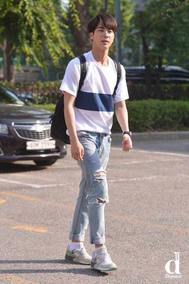 Netizens Offer Constructive Criticism For Bad K Pop Idol Singers Koreaboo Kim Seokjin Bts Jin Kpop Fashion