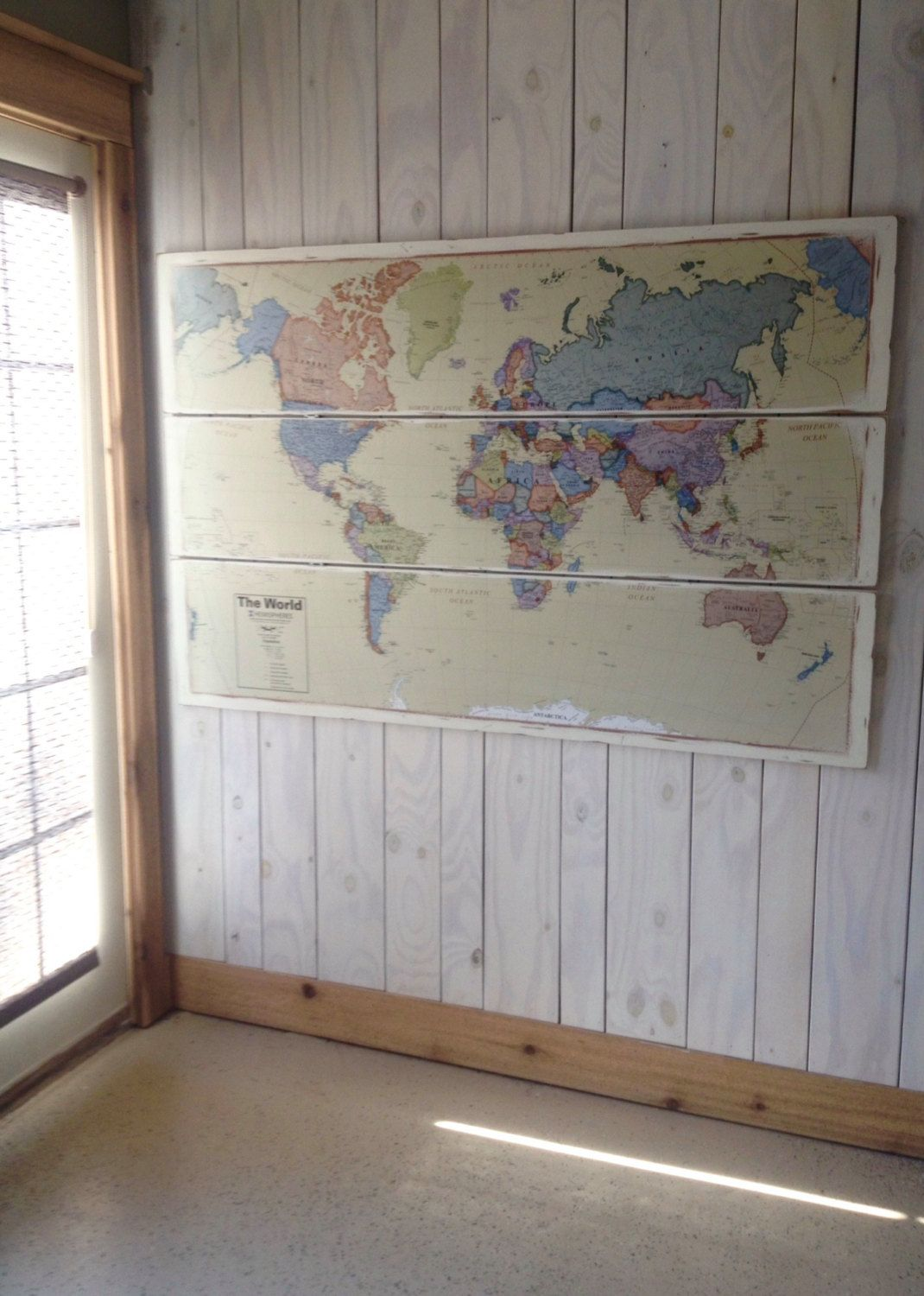 Huge world map art rustic world map vintage style colorful world huge world map art rustic world map vintage style colorful world map wall decor gumiabroncs Gallery