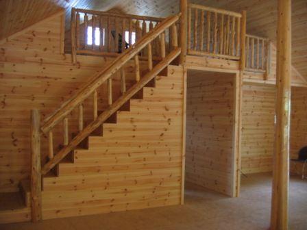 Best Log Railings Log Stair Railings Barn Idea Rustic Stairs Log Homes 400 x 300