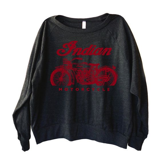 Classic Indian Motorcycle Graphic printed on Women's by GP101