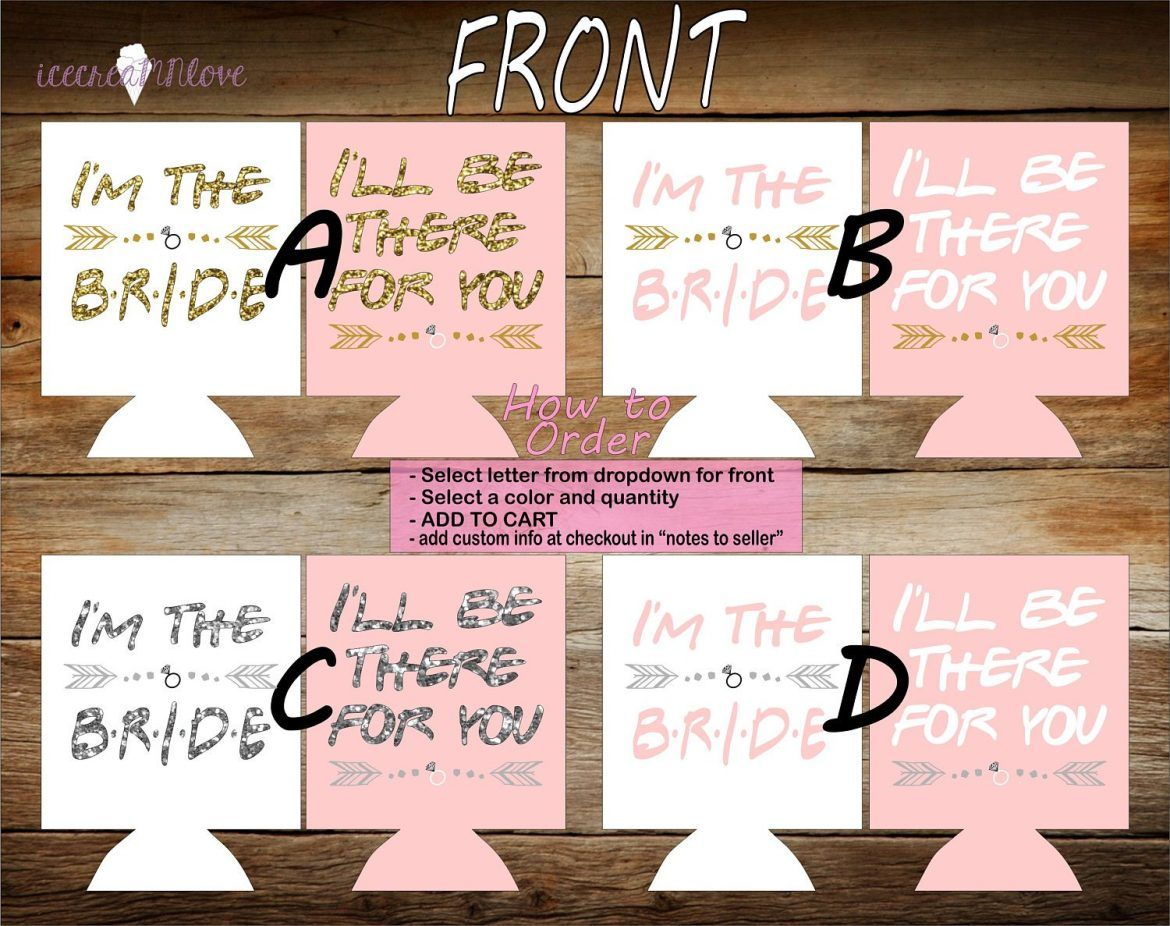 How To Plan A Friends Themed Bachelorette Party