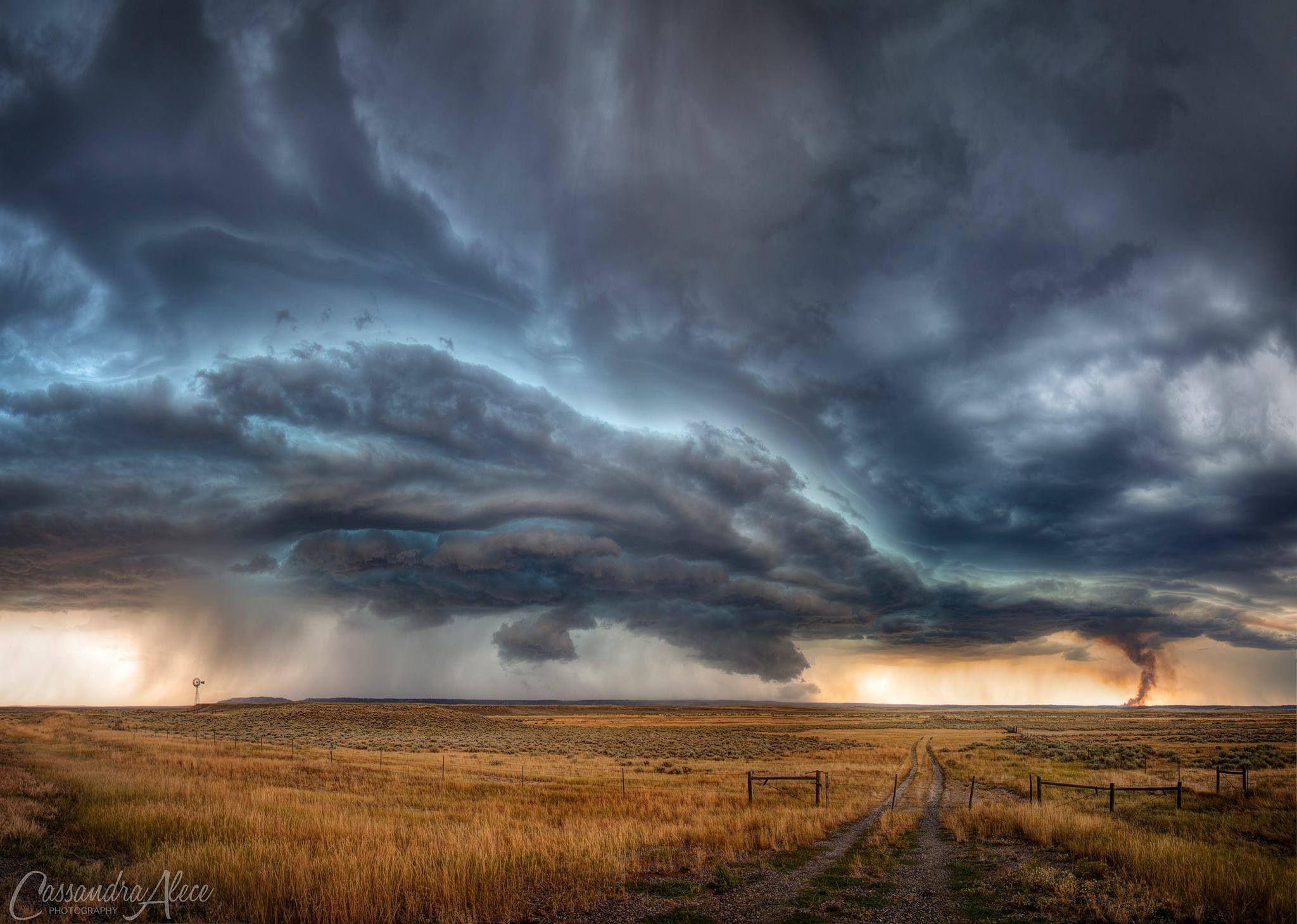 6/19/2015 Montana & Wyoming Severe Storms - YouTube