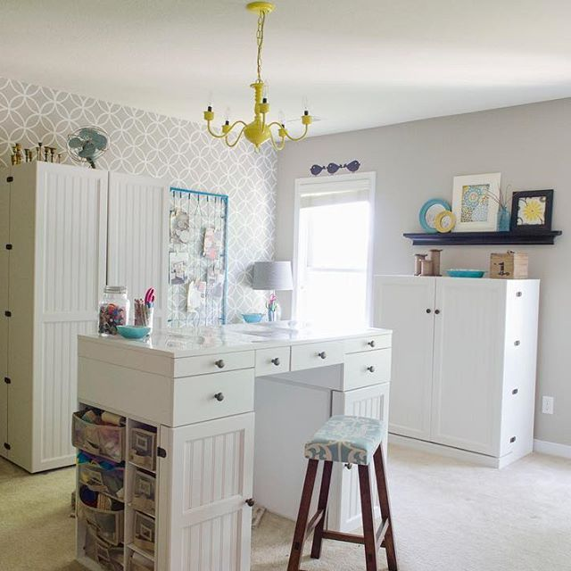 #TBT to one of our favorite craft rooms by @craftaholicsanonymous!