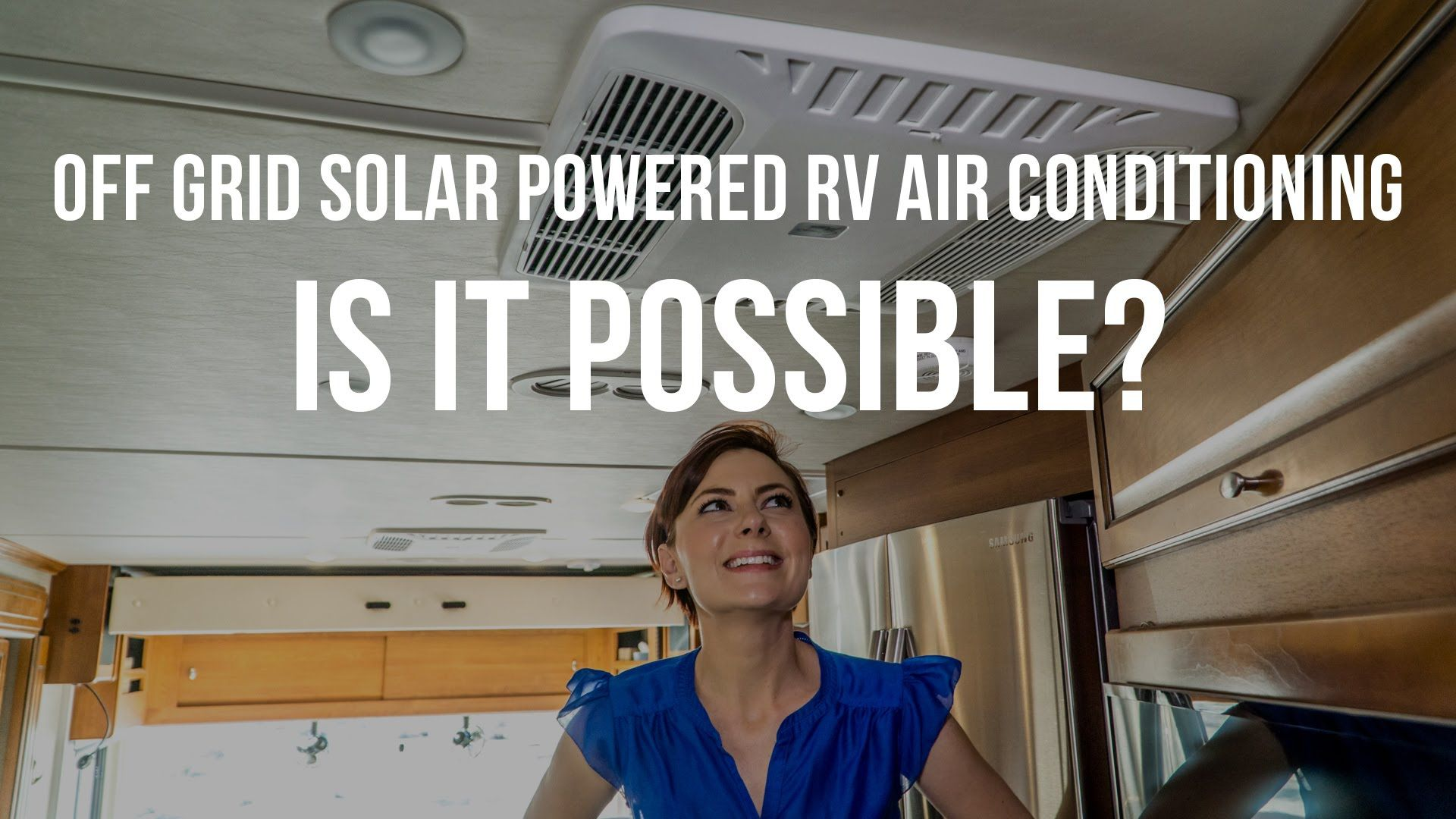Get all the gear details, more of our solar AC thoughts