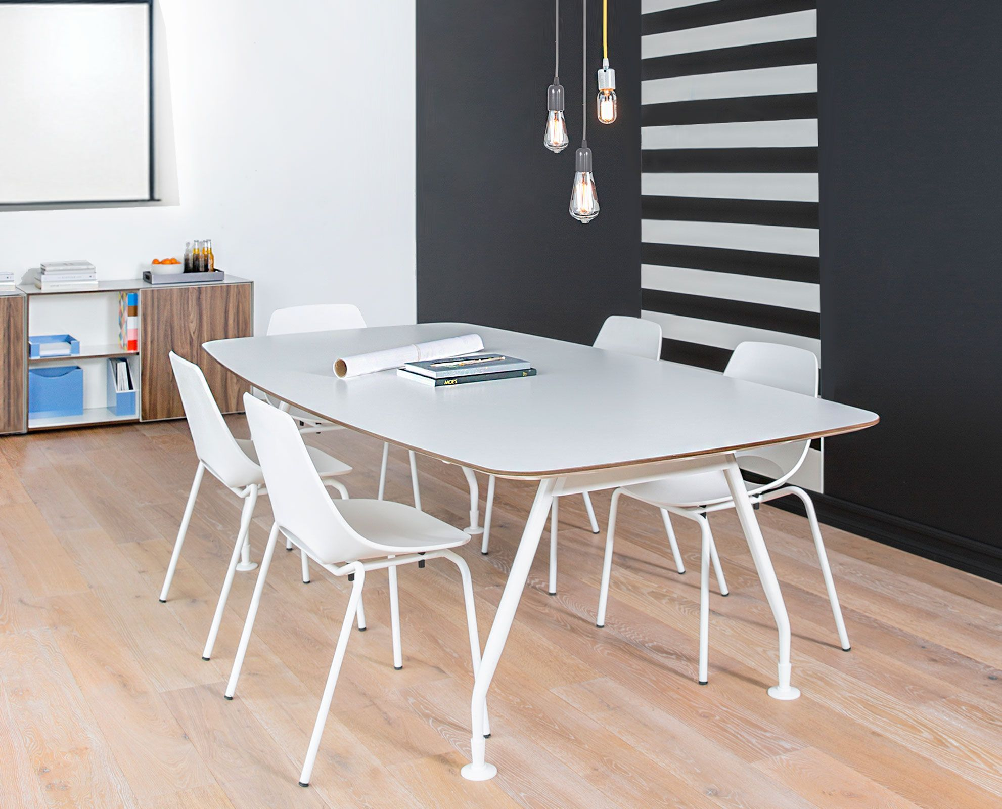 Inspire Your Employees To Greatness With The Sparsa Conference Table From Scandinavian Designs The Large T Office Furniture Collections Table Conference Table