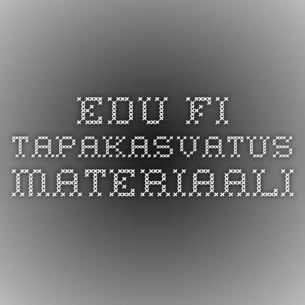 Edu.fi -tapakasvatus materiaali