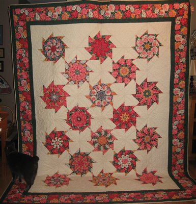 stack and whack quilts | Magic Stack N' Whack Quilt | Kaleidoscope ... : stack and whack quilt tutorial - Adamdwight.com