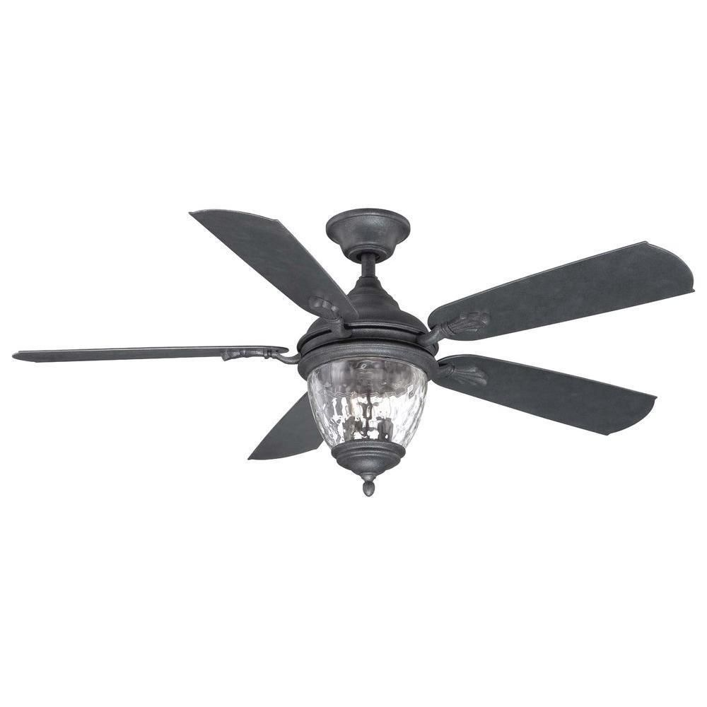 10 Abercorn 52 In Indoor Outdoor Iron Ceiling Fan Replacement Parts