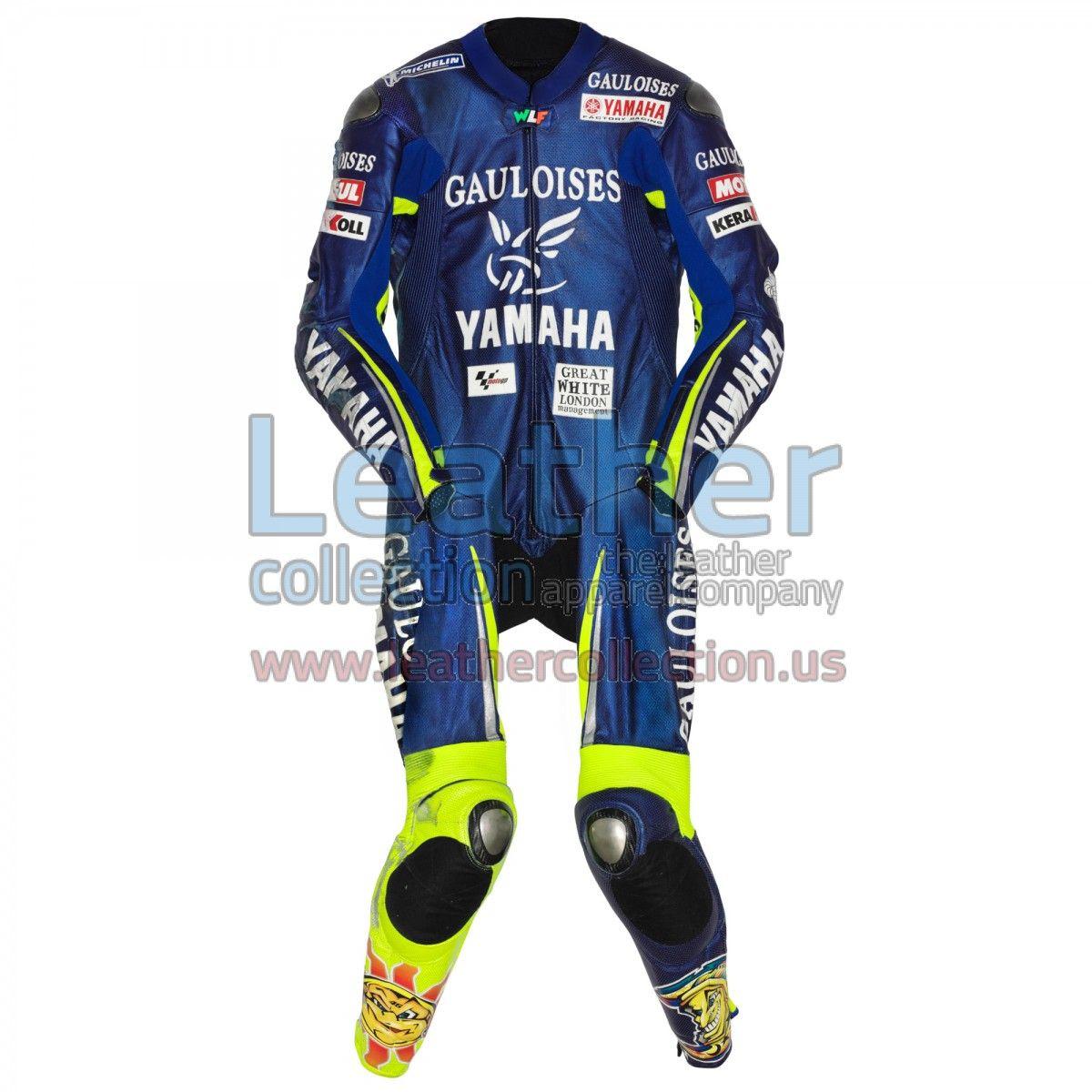 Valentino Rossi Yamaha MotoGP 2005 Race Suit - https://www.leathercollection.us/en-we/valentino-rossi-yamaha-race-suit.html Valentino Rossi, Valentino Rossi race suit #ValentinoRossi, #ValentinoRossiRaceSuit