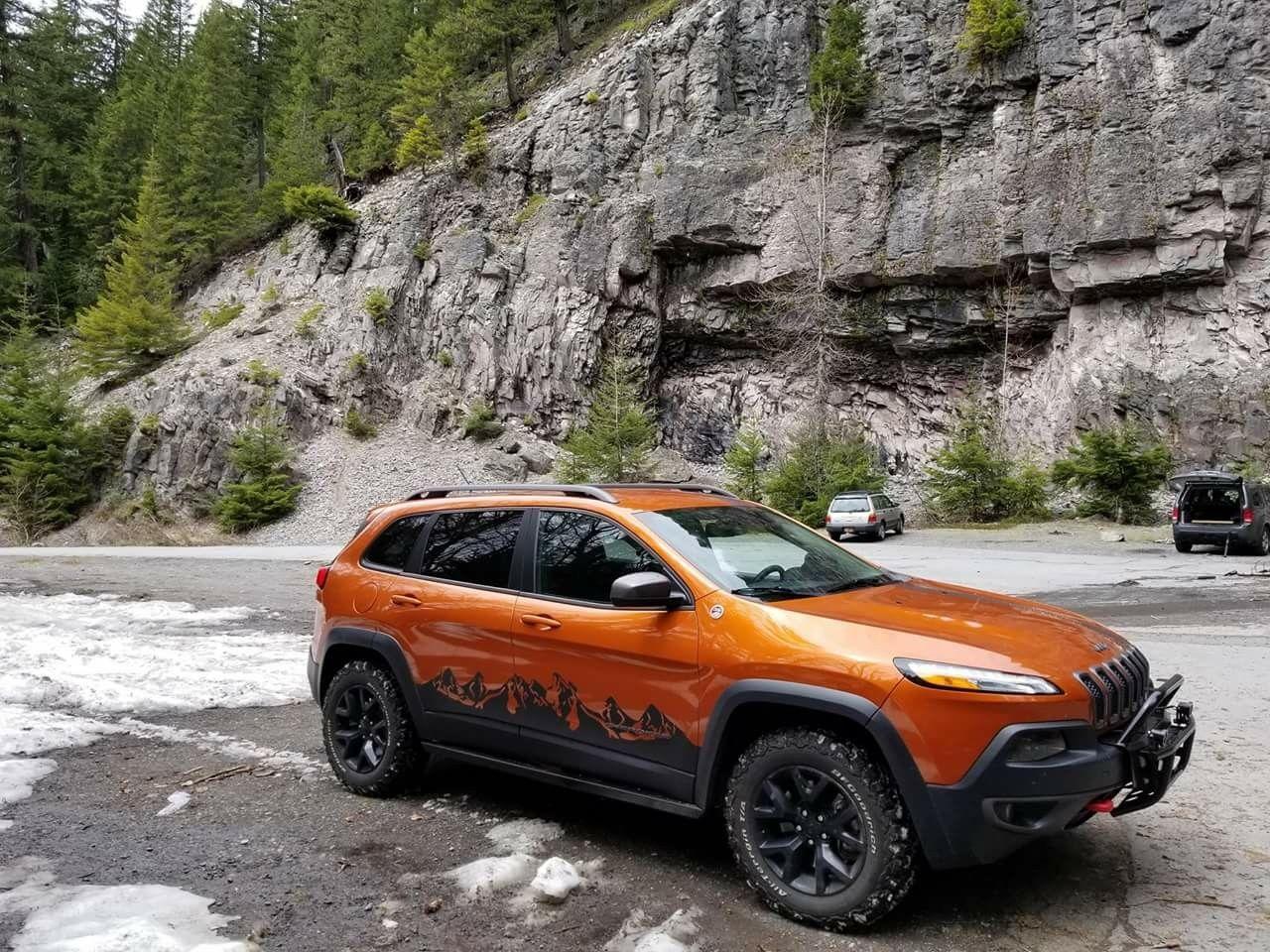 Jeep Cherokee Trailhawk 4x4 Kl Jeep Cherokee Trailhawk Cherokee