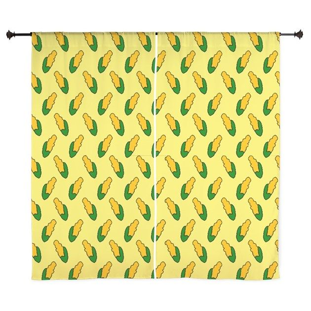 Simpsons Kitchen Remodel: Corn Cob Curtains As Seen On The Simpsons