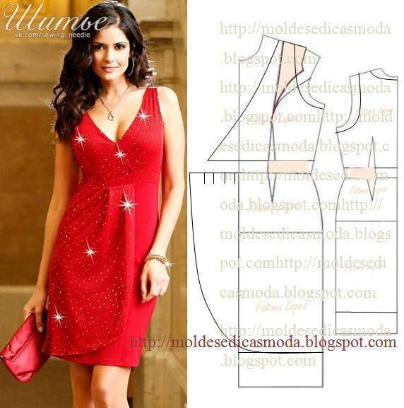 Моделирование одежды. Шитье | costura facil | Pinterest | Dress ...