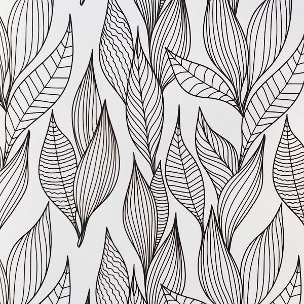 Image result for adult coloring pages leaves  Images  Pinterest