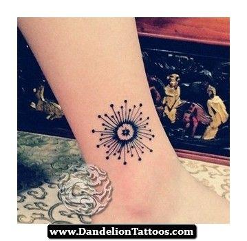 Pinterest Dandelion Tattoo 09 - http://dandeliontattoos.com/pinterest-dandelion-tattoo-09/ Artsy...I like it