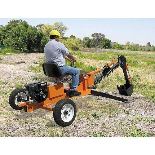 9 Hp Towable Backhoe Welding Projects Welding Projects