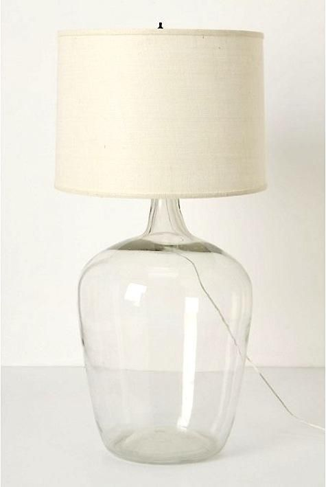 10 Easy Pieces Glass Table Lamps Lamp Anthropologie Lamp