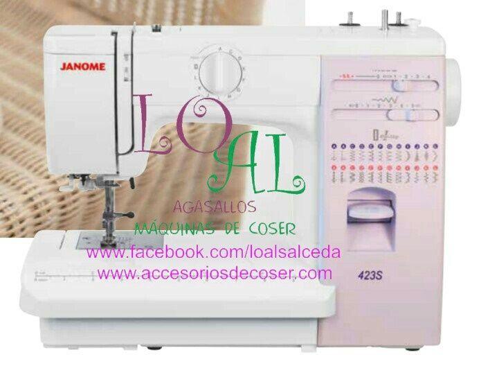 Janome 423s Maquina De Coser Maquina De Coser Costura Cosas