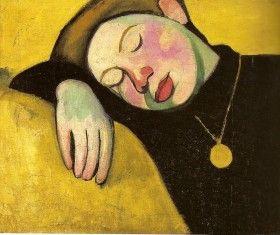 """""""Jeune Fille endormie"""" (1907)"""