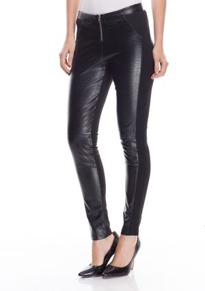 JEALOUS TOMATO Faux Leather Jeggings