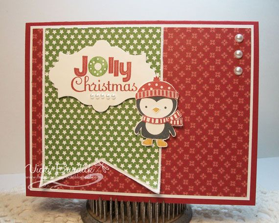 It's a Stamp Thing: Merry Monday.....Jolly Christmas