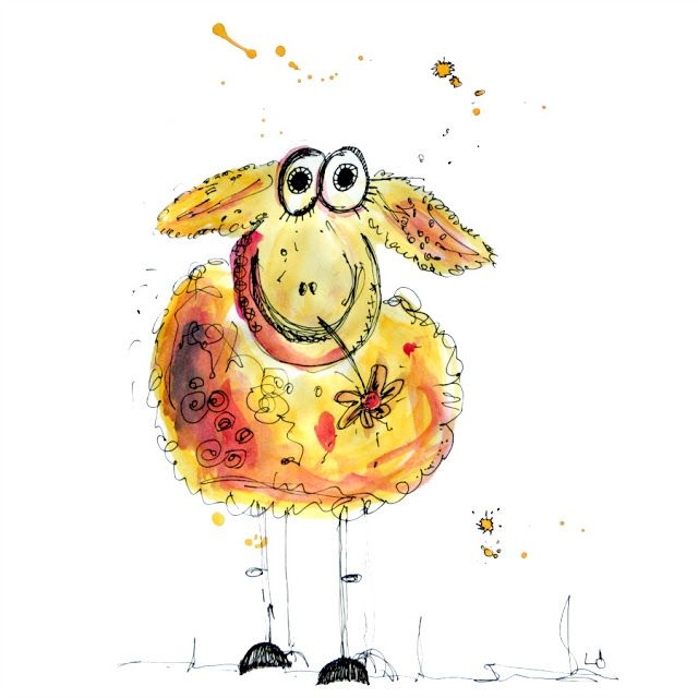 LÖwin.g...: Happy Sheep #comicsandcartoons