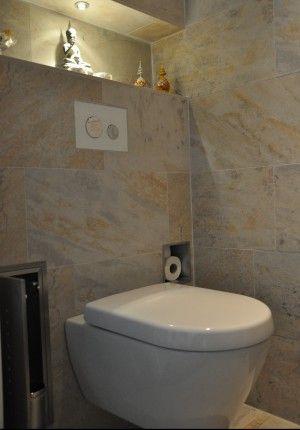 Wc met nis google zoeken bathroom pinterest wc zoeken en google - Kleine badkamer wc ...