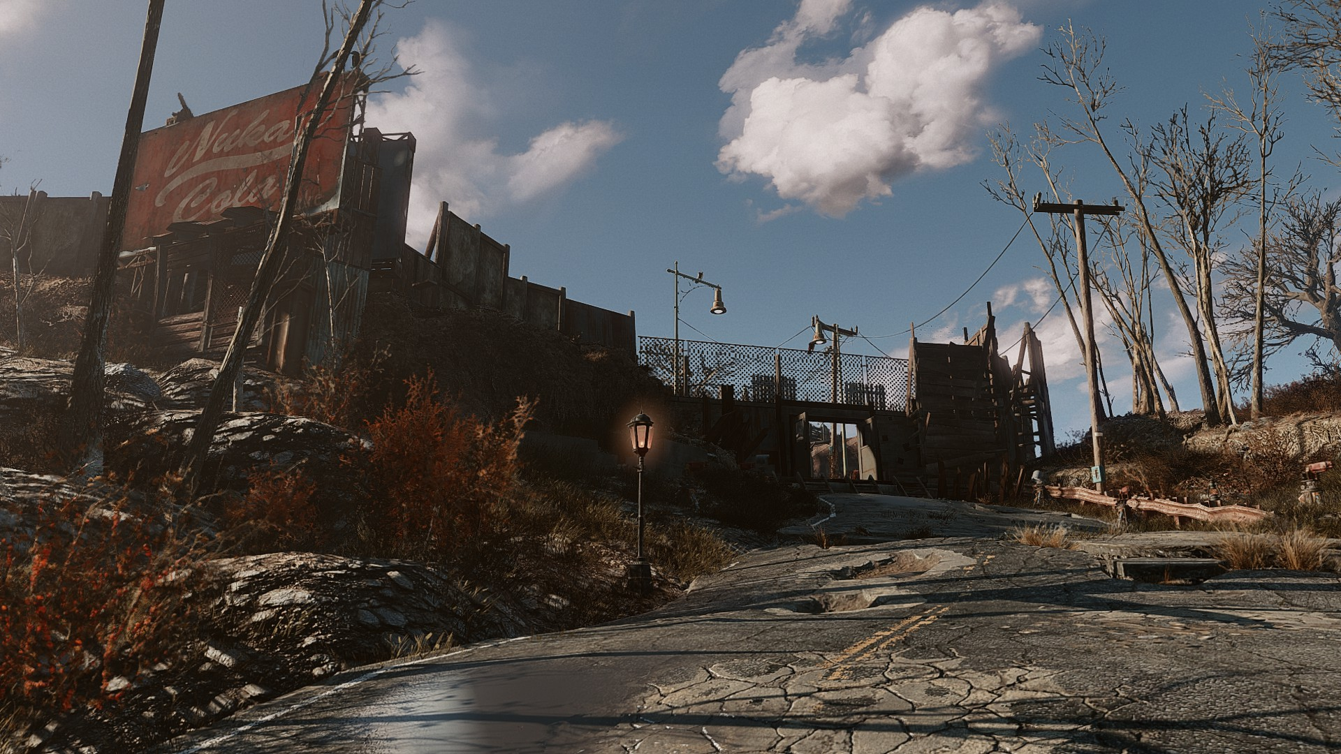 The Front Of My Red Rocket Sanctuary Hills Settlement Fallout4 Gaming