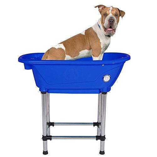 Flying Pig Pet Dog Cat Portable Bath Tub Royal 37 5 X19 5 X35 5