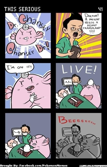 Dr. Chansey: Egg-xactly as planned!