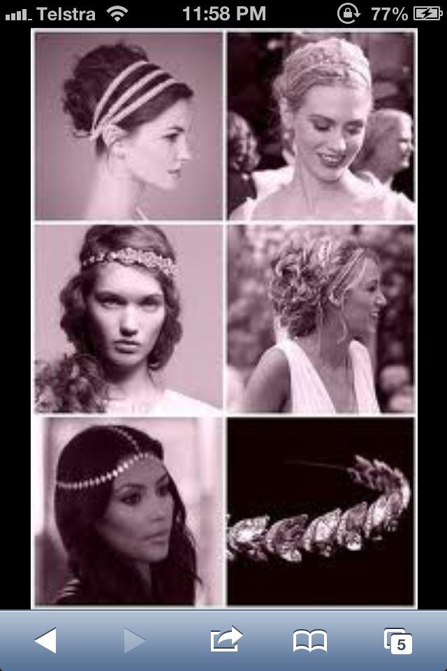 Pin di Elisha Evans su Wedding hair | Capelli