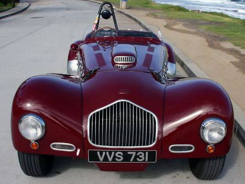 Allard J2 1950-1952. FACT: Both Zora Duntov (the father of the Corvette) and Carroll Shelby (the father of the Cobra) raced J2's in the early 50's