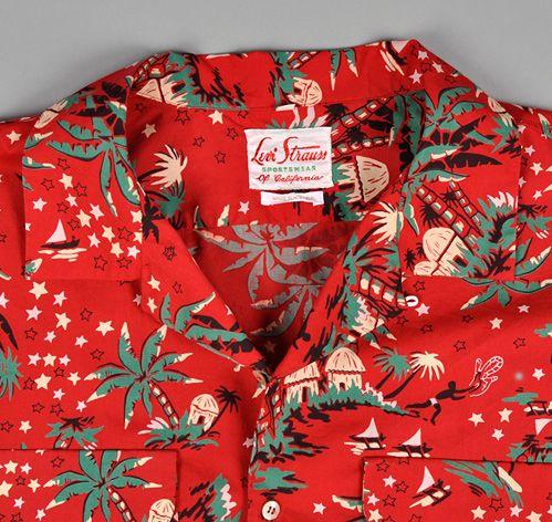 a54c577c Levi's Vintage - Pink Hawaiian Shirt | Clothing | Hawaiian print ...