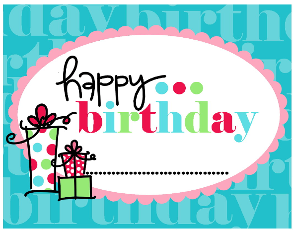 17 Best images about Happy Birthday Printables on Pinterest ...