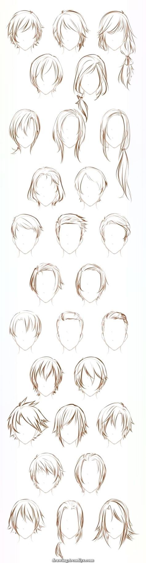 Unique And Creative The Hair Of The Artwork Of Drawing Allusive Tremendous Concepts Drawing Hair Tutorial How To Draw Hair Anime Hair