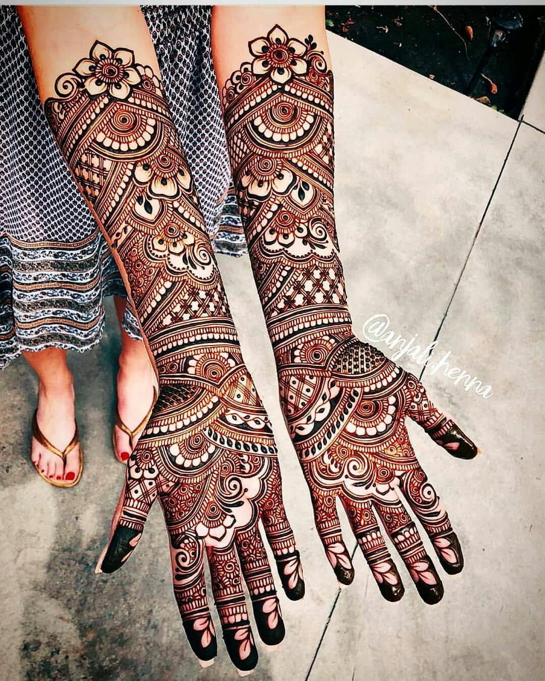 Here Are The Best And Latest Henna Mehndi Designs For Brides