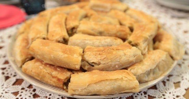 28 Ocak Nursel'in Mutfağı Bursa'dan Nefise Hanım Pırasalı Boşnak Böreği tarifini hazırladı.