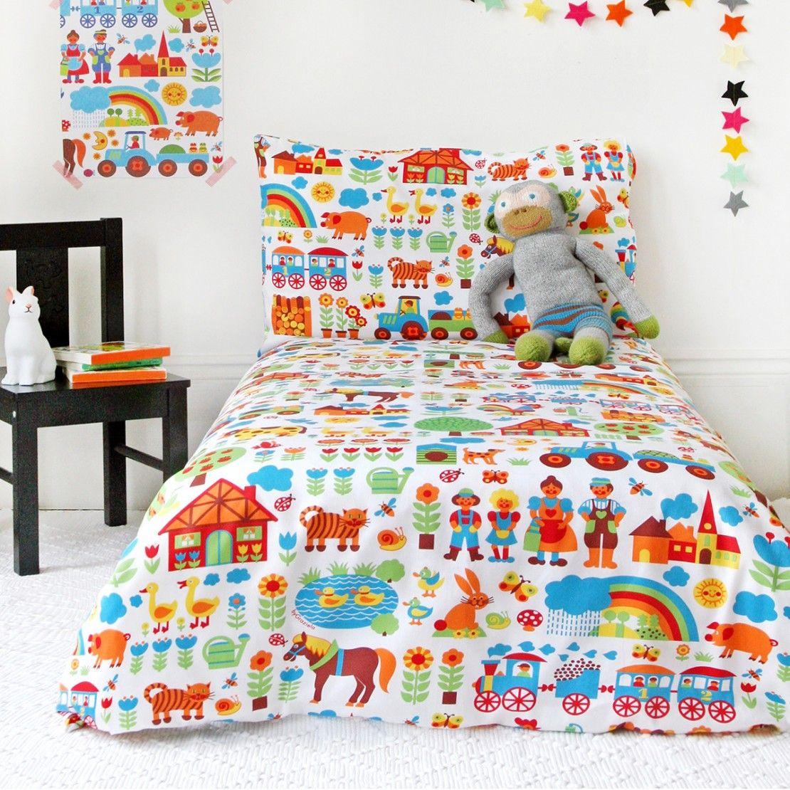 Kinderbettwäsche Bauernhof Kinderbettwäsche, Bettwäsche