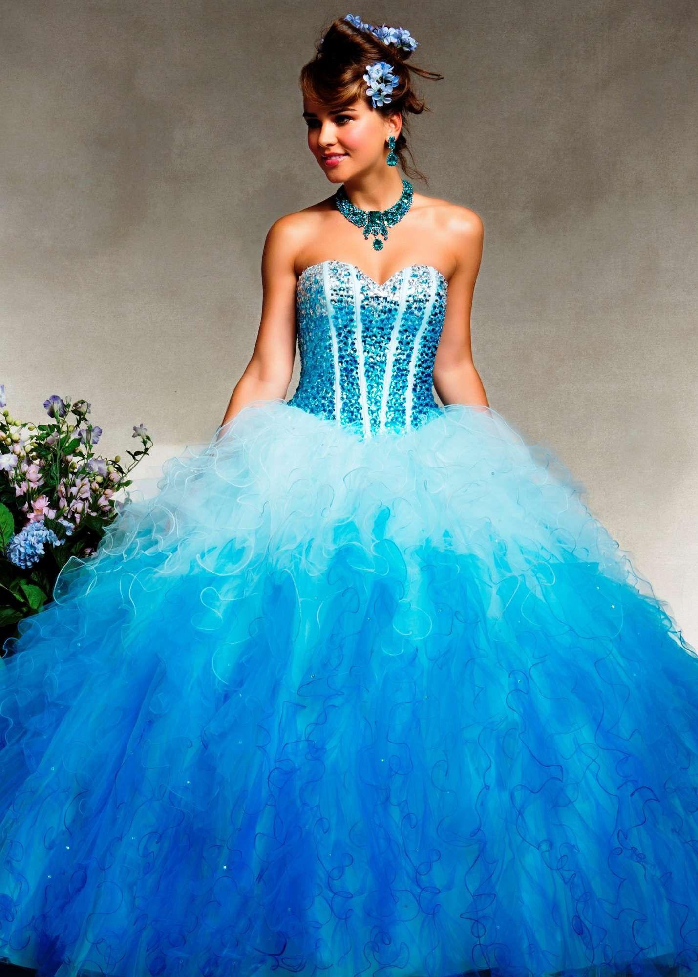 Mori Lee 88078 Beaded Quinceanera Dress Quinceanera Dresses Blue Quincenera Dresses Formal Dresses For Weddings [ 2000 x 1429 Pixel ]