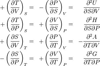 \begin{align} +\left(\frac{\partial T}{\partial V}\right