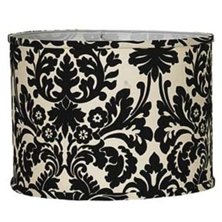 Black and white damask lamp shade the cottage pinterest white black and white damask lamp shade aloadofball Image collections