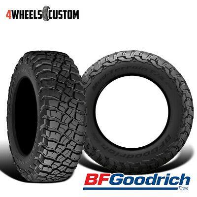 2 X New Bf Goodrich Mud Terrian T A Km3 Lt305 55r20r10 121 118q Tires Goodrich Mud All Terrain Tyres