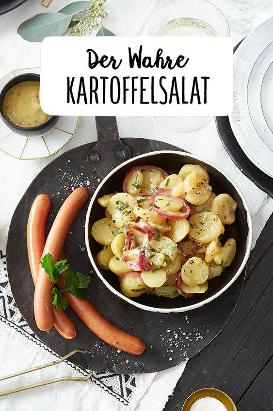 Was Koche Ich An Weihnachten.Der Wahre Kartoffelsalat Rezept Was Koche Ich Heute