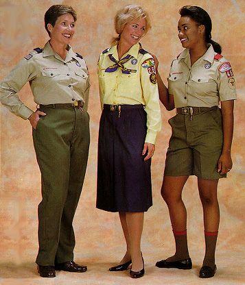 Adult cub scout uniform